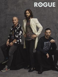 30 SECONDS TO MARS  (for  ROGUE Magazine)