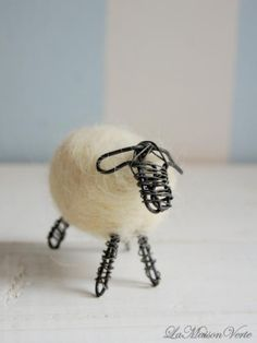first sheep ... Idea for Tina? You love sheep & you could soooo make this!!!!