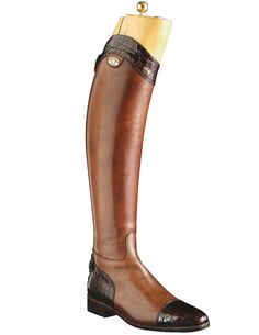 With the right pair of boots, a girl can conquer the world. Secchiari Columbian Luxury Leather Top Boot.