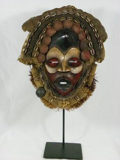 Fine African Tribal Mask DAN Ceremonial Mask
