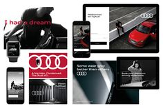 """German car brand Audi has refreshed its branding to enable users to interact with the brand more """"intuitively"""" on digital platforms."""