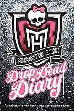 Target : Monster High Drop Dead Diary (Media Tie-In) (Hardcover) : Image Zoom