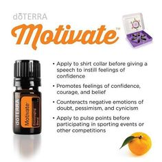 Stop, reset, and restart with doTERRA Motivate Encouraging Blend with mint and citrus essential oils. The aroma of Motivate is described as fresh, clean, minty and can be used aromatically or topically. Learn more about Motivate Encouraging Blend by clicking the link in profile. The doTERRA Emotional Aromatherapy Kit will be available to purchase October 1st. #doterra #emotionalaromatherapy #essentialoils #motivateblend #motivation