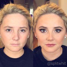 Makeup by @splitwhit