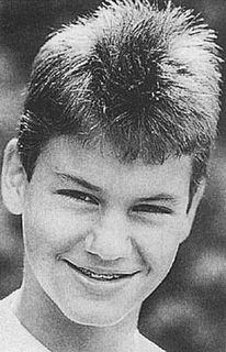 A teen genius (Roger Federer).