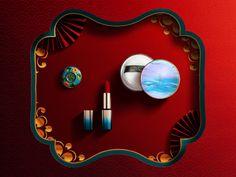 beauty makeup on Behance Jewelry Photography, Photography Backdrops, Product Photography, Makeup Collage, Chinese Festival, Makeup Lessons, Beautiful Eye Makeup, Keys Art, New Chinese