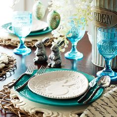 Beautiful table for #spring #mood #inspiration