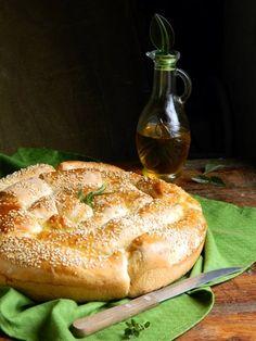 teleginatania - Хлеб с пармезаном и итальянскими травами