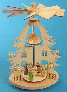 Mini Pyramid Tree House from Germany