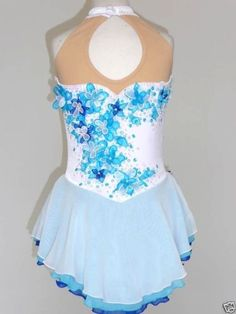 Beautiful Gorgeous Ice Skating Dress Size Girls x Large | eBay