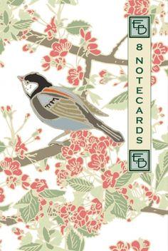 Garden Birds notecards