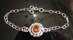 Little bracelet for kids, silver, vaptism, handmade #mestella_handmade