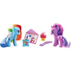 A great stocking filler the My Little Pony toys come with their very own accessories. Available from Argos for under a fiver.
