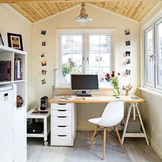 Home Office Decor Ideas Pictures . 24 Best Of Home Office Decor Ideas Pictures . 20 Smart Home Fice Design Ideas Garden Home Office, Shed Office, Home And Garden Store, Backyard Office, Home Office Design, Home Office Decor, Office Furniture, Home Decor, Office Designs