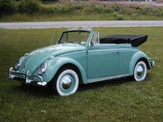 Volkswagen Convertible - someday ours will look this nice!