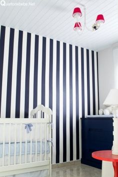 decoração de quarto de bebê marinheiro