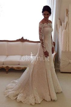 White Off-the-shoulder Lace Long Sleeve Bridal Gowns Cheap Simple Custom Made Wedding Dress. White Off-the-shoulder Lace Long Sleeve Bridal Gowns Cheap Simple Custom Made Wedding Dress. Wedding Dress Styles, Bridal Dresses, Bridesmaid Dresses, Dresses Uk, Prom Dresses, Celebrity Wedding Dresses, Custom Dresses, Dresses Online, Cheap Gowns
