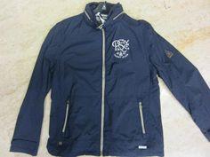 Gaastra collezione SAIL giacca in tessuto trattato impermeabile con cappuccio nascosto