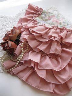 Shabby Chic federe, biancheria da letto, Rose, Romantic Casa, paese francese, due cuscini decorativi, con un modello piuttosto rosa sul davanti