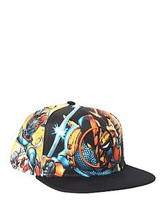 4ae9580225f DC Comics Deathstroke Allover Sublimation Snapback Hat