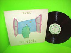 Genesis – Duke 1980 Vintage Vinyl LP Record w Misunderstanding Turn It On Again #Genesis1980sPopRockSoftRock