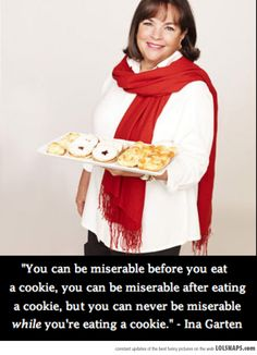 Today's Motivational Spiel Brought To You By Ina Garten