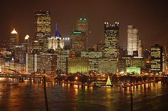Pittsburgh - I'll always consider it my hometown (GO STEELERS!!)  :)