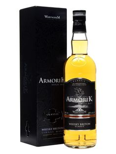Armorik's Classic is produced at the Warenghem distillery in Lannion in the north of Brittany and is a marriage of sherry and bourbon cask whiskies of various ages.