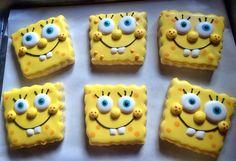 Sponge Bob Cookies. Gluten and Dairy Free too!