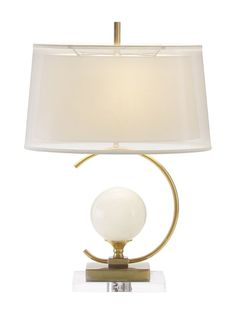 Eclipse Table Lamp from Mobile First Look: John Richard on Gilt