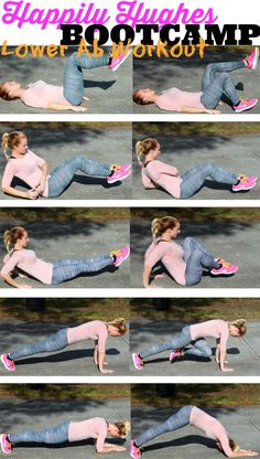 Happily Hughes Bootcamp- Lower Ab Workout