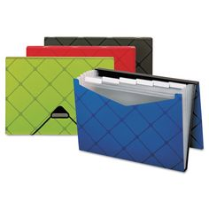 Poly Expanding Files in Fun Colors - Snap Supplies PFX55633