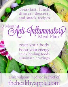3-Month Anti-Inflammatory Meal Plan.  Check out site with more time!