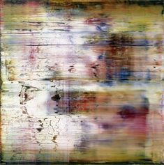 Gerhard Richter, Tableau abstrait, 1994,  Huile sur toile, Catalogue Raisonné: 810-4. http://www.gerhard-richter.com/art/paintings/abstracts/detail.php?paintid=8071
