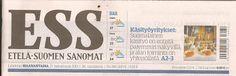 by itu: Etelä-Suomen Sanomat 25.07.2016 Kotimaisuus - Käsi...