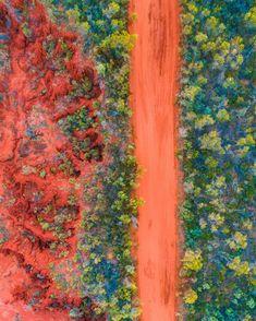 Roebuck Bay in Broome, Western Australia - Nature/Landscape Pictures Nature Landscape, Landscape Photos, Aerial Photography, Nature Photography, Australian Photography, Travel Photography, Broome Western Australia, Queensland Australia, Australia Occidental