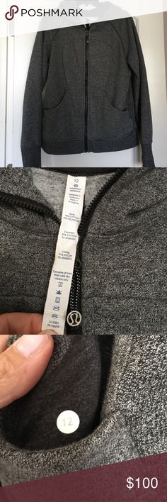 Lululemon scuba hoodie Lululemon scuba hoodie, excellent condition lululemon athletica Tops