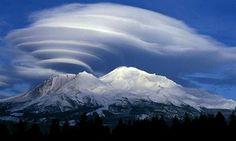 Interessante Wolkenformationen