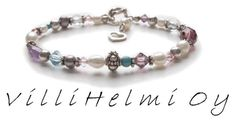 Maksu   VilliHelmi Beaded Bracelets, Jewelry, Fashion, Moda, Jewlery, Jewerly, Fashion Styles, Pearl Bracelets, Schmuck