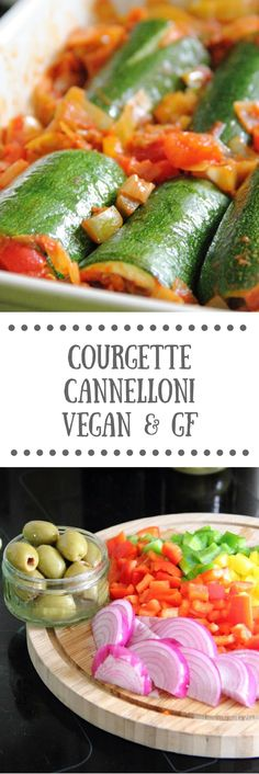 Courgette Cannellino | Healthy Vegan, Gluten-free Recipe