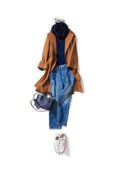 kk-c ~lisa. Love this 26 February, ボーイズムードのキャメル Tomboy Fashion, Denim Fashion, Fashion Outfits, Womens Fashion, Fashion Ideas, Mode Outfits, Casual Outfits, Smart Casual Work, Fashion Capsule