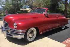 Bid for the chance to own a 1948 Packard Super Eight Victoria Convertible at auction with Bring a Trailer, the home of the best vintage and classic cars online. Vintage Cars, Antique Cars, Cool C, Canada National Parks, Steel Wheels, Car Covers, Bench Seat, Classic Cars Online, Manual Transmission
