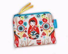 Mini - Kosmetiktasche Schminktäschchen von FrauVulture auf Etsy  zipper pouch, cosmetic bag Zipper Pouch, Pouches, Mini, Bags, Etsy, Fashion, Craft Gifts, Schmuck, Handbags