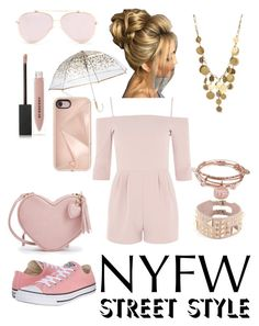 """""""NYC Shopping #NYFW"""" by emaantirmizi ❤ liked on Polyvore featuring Alex and Ani, Valentino, Oh My Love, Kenneth Cole, Converse, Burberry, ShedRain and Rebecca Minkoff"""