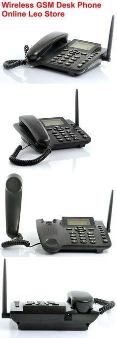 Home Telephones: Wholesale Lot 10 Units Wireless Gsm Desk Phone, Quadband, Sms Function. $44.00Ea -> BUY IT NOW ONLY: $440 on eBay!