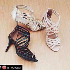 Pra festa ao dia a dia! #Repost @amoguapa with @repostapp. ・・・ Três cores: uma só paixão!❤️ #sandalia #inverno2016 #paratodasasmulheres #amoguapa #voudeguapa #shoes #moda #estilo #casualchic narallima@paralelascalcados vende atacado????? paralelascalcados@narallima no momento nao!