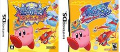 Kirby Squeak Squad... spot the difference between the Japanese and North American cover art #kirby #nintendo