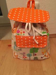 Foto zu Schnittmuster Kinderrucksack Lieselotte von LiebEling