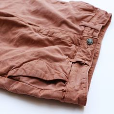 Rust Natural Dyed Chino