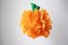DIY: Seidenpapier Pompoms - we love handmade